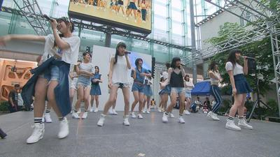 8月5日から放送 「ガールズダイニング デビューライブ」