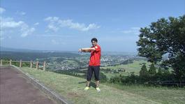9月2日から放送 第30回 風の城de体操してみた