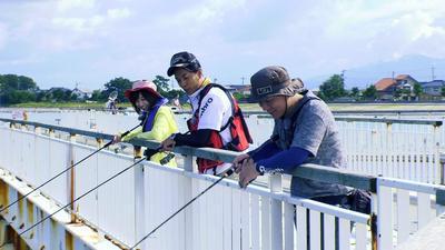 2017.9.23 富山を釣る「ハゼ・アオリイカ釣り」