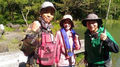 2018.10.27 富山を釣る「ニジマス・ナマズ・アオリイカを狙う」