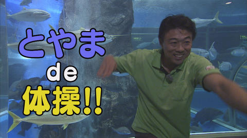 11月3日から放送 第43回 魚津水族館de体操