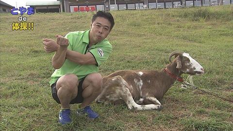 9月7日から放送 第53回 くろべ牧場まきばの風 de 体操