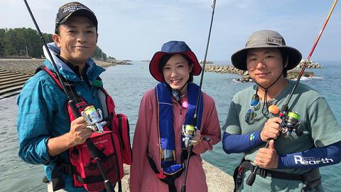 2019.10.26 富山を釣る#8「陸っぱりからアオリイカを狙う」