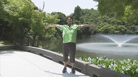 7月4日から放送 第61回 高岡古城公園 de 体操